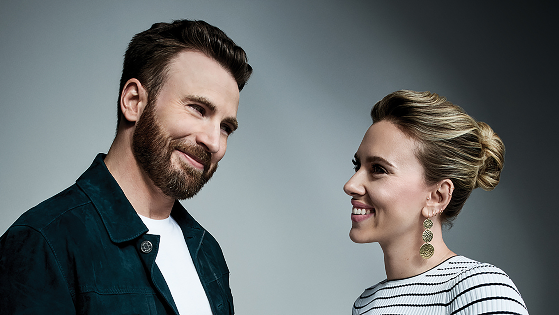 Chris Evans and Scarlett Johansson Return Together in Apple TV+ Movie ' Ghosted'