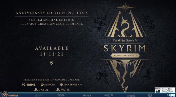 Skyrim Anniversay Edition
