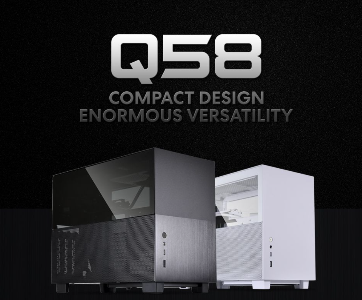 LIAN LI Intros Aesthetically Small-Form Factor Q58 Case, Complete With Mesh Panels and LEDs
