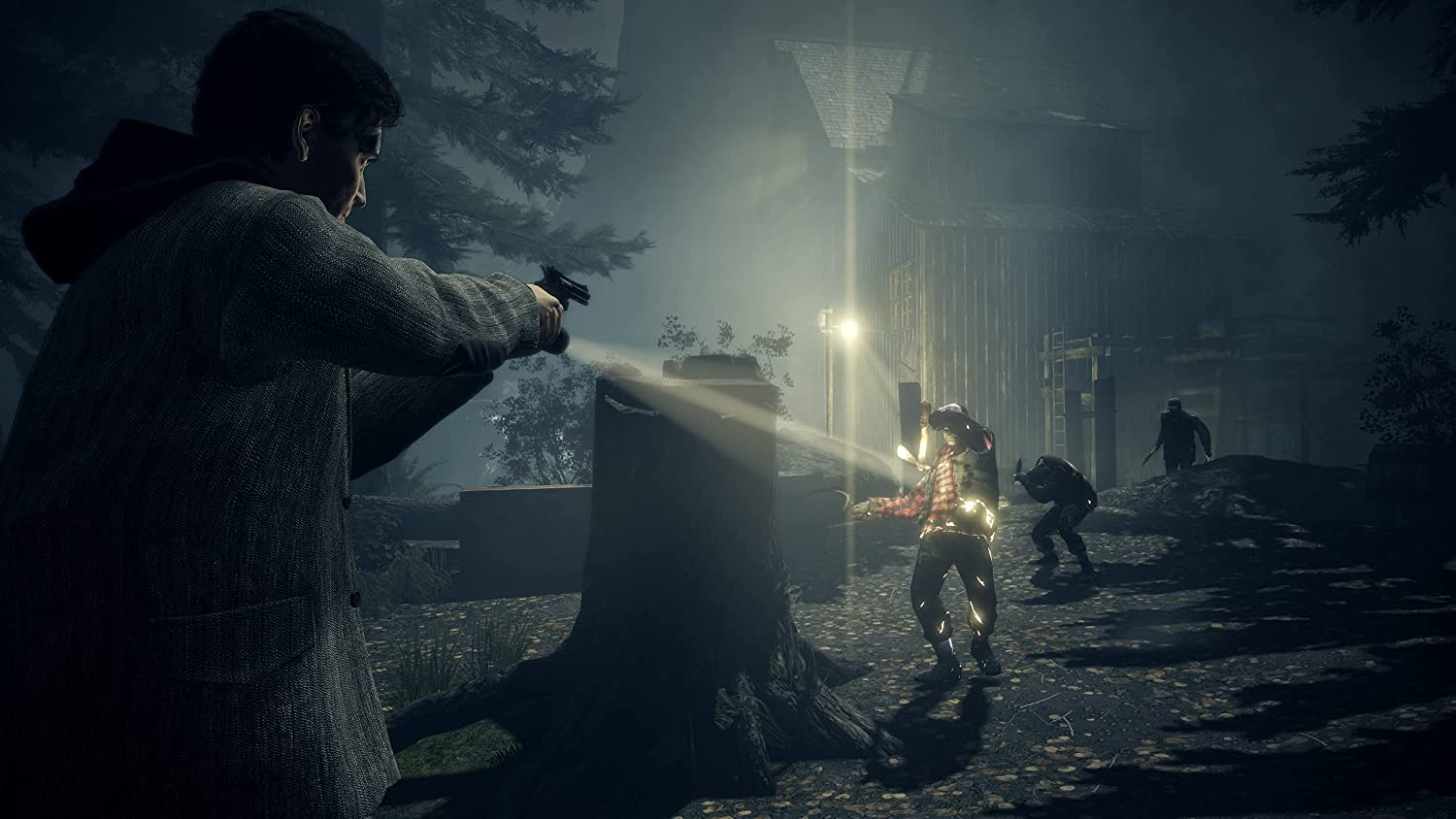 Alan Wake Remastered Shows Up in Amazon UK; First Screenshots Unveiled  [UPDATE]