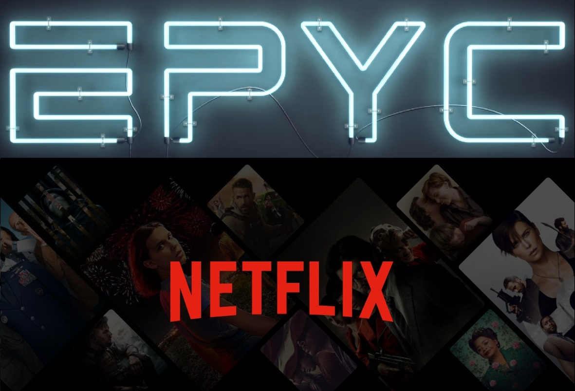 Netflix Achieves Up To 400 Gbps Bandwidth With AMD's 2nd Gen EPYC Rome Server CPUs