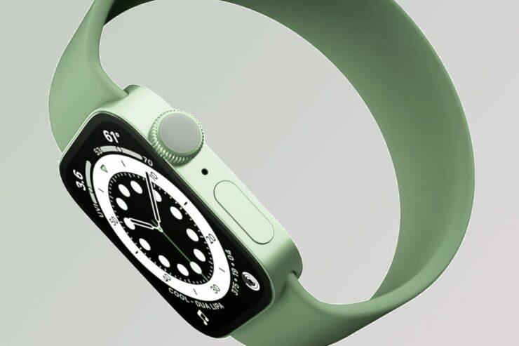 Apple Watch Series 8 body temperature sensor
