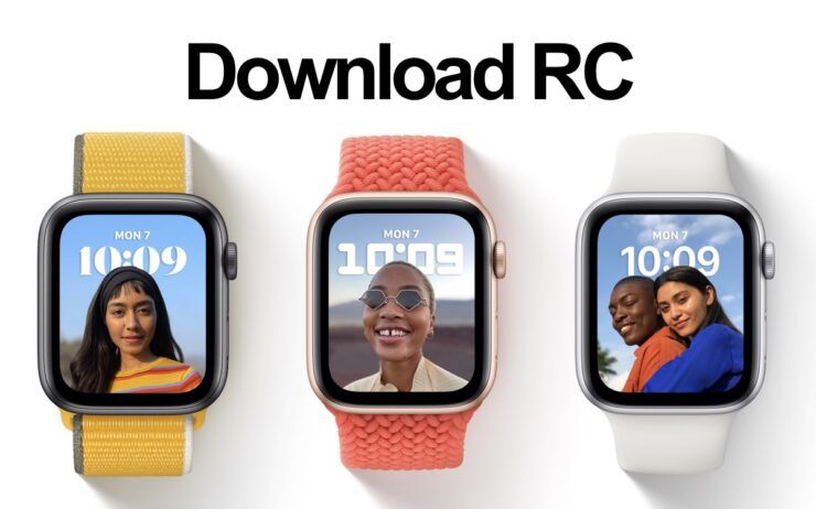 watchOS 8 RC now available for download
