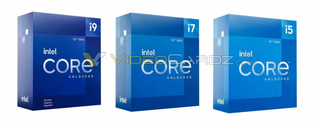 Les paquets de processeurs Intel Alder Lake Core i9-12900K, Core i7, Core i5 fuient, le produit phare est vendu sur le marché noir chinois pour 700 $ US 2