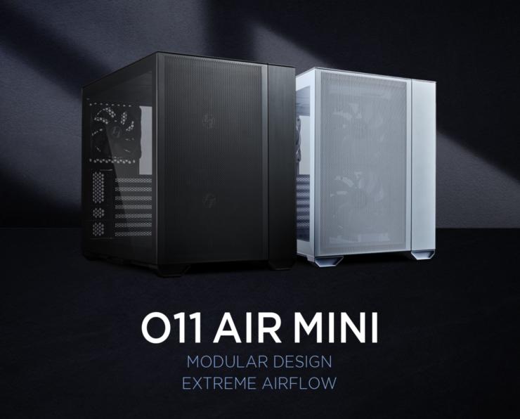 LIAN LI Launches O11 AIR MINI, A Small-Footprint Modular Case Focusing on Cooling & Starting at $109 US 1