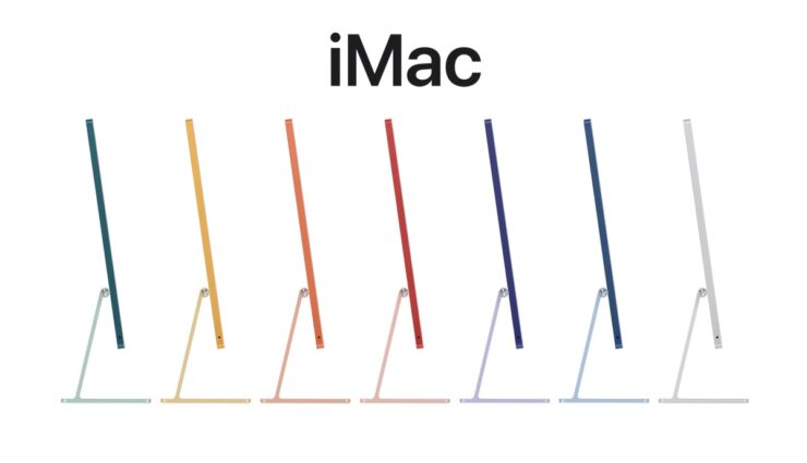 M1 iMac available in all colors starting next week