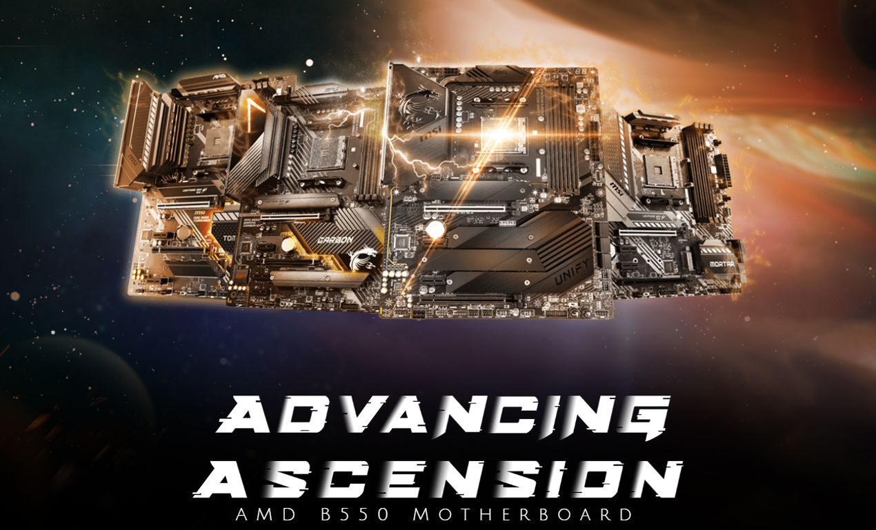 MSI First To Release AMD AGESA 1.2.0.4 BIOS Firmware For B550 & B450 Motherboards