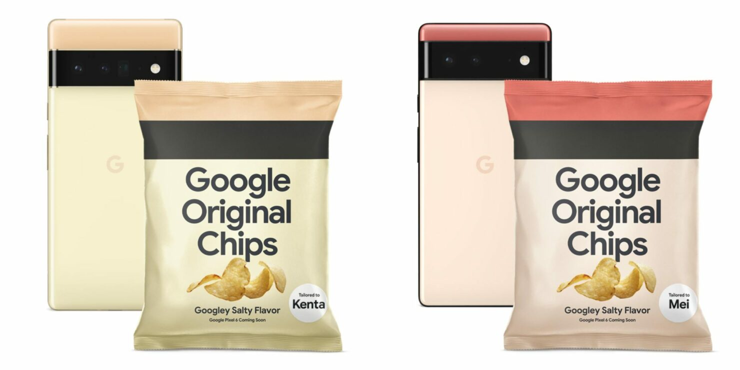 Google is Hyping the Pixel 6 in Japan with Bag of 'Google Original Chips'