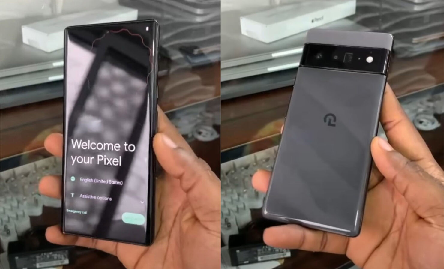 Pixel 6 Pro Hands-on Video Leak Reveals Rear Quadruple Camera Array, Glossy Finish, Tensor Specs & More