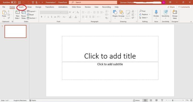 Record Microsoft PowerPoint Presentations