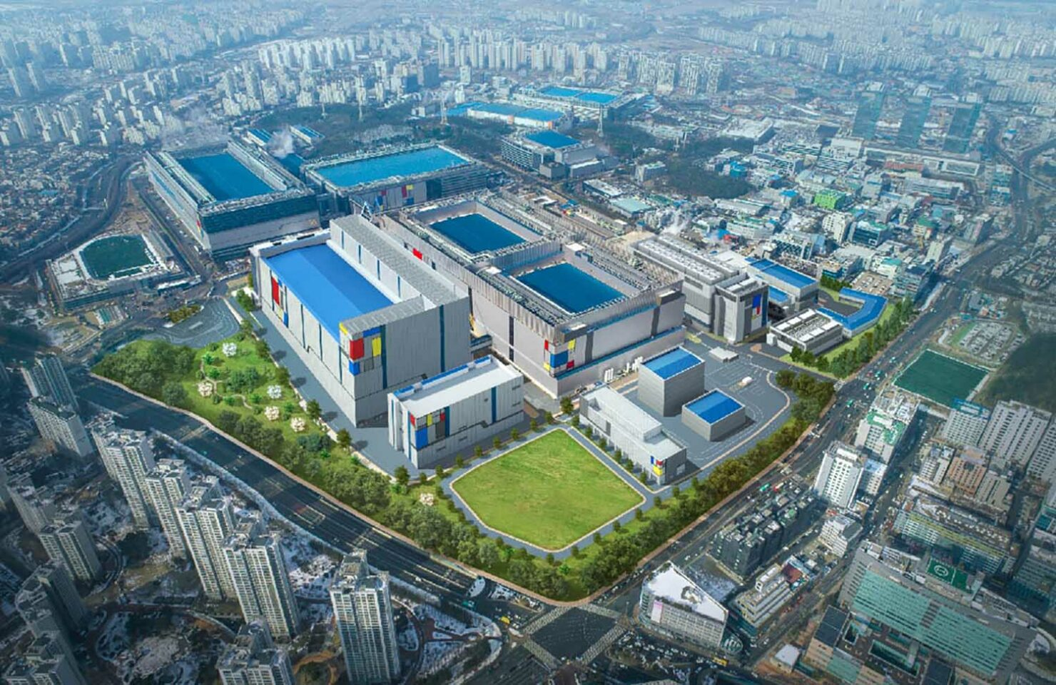 Samsung Reportedly Close to Finalizing Its $17 Billion Chip Plant in Texas in an Effort to Catch up to TSMC
