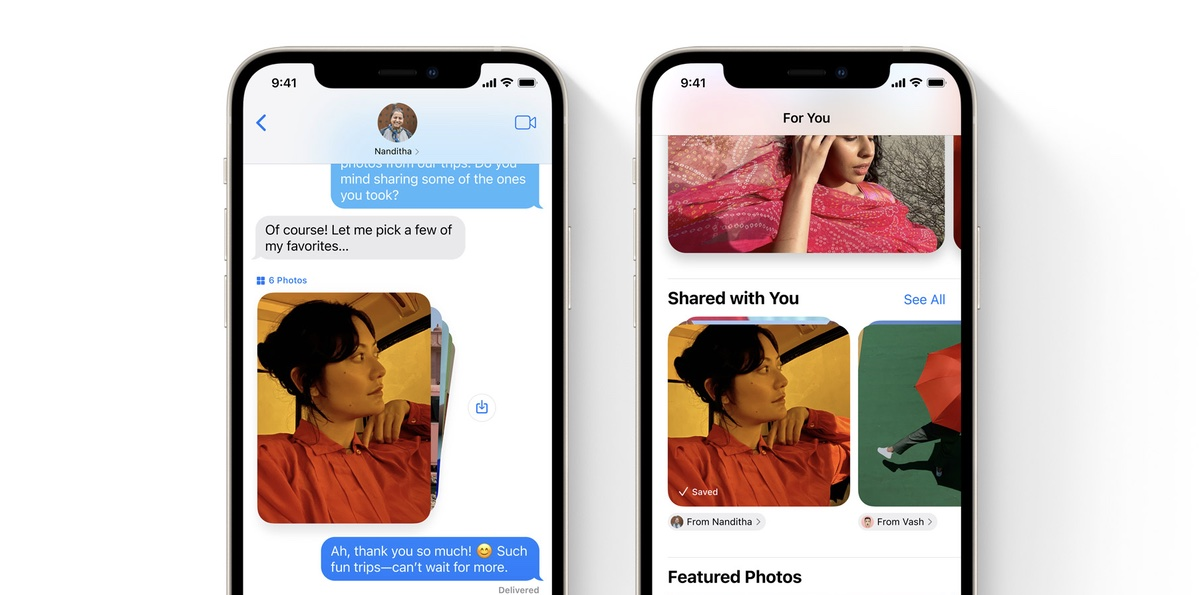 Stop photos from Messages appearing in iOS 15 Photos app