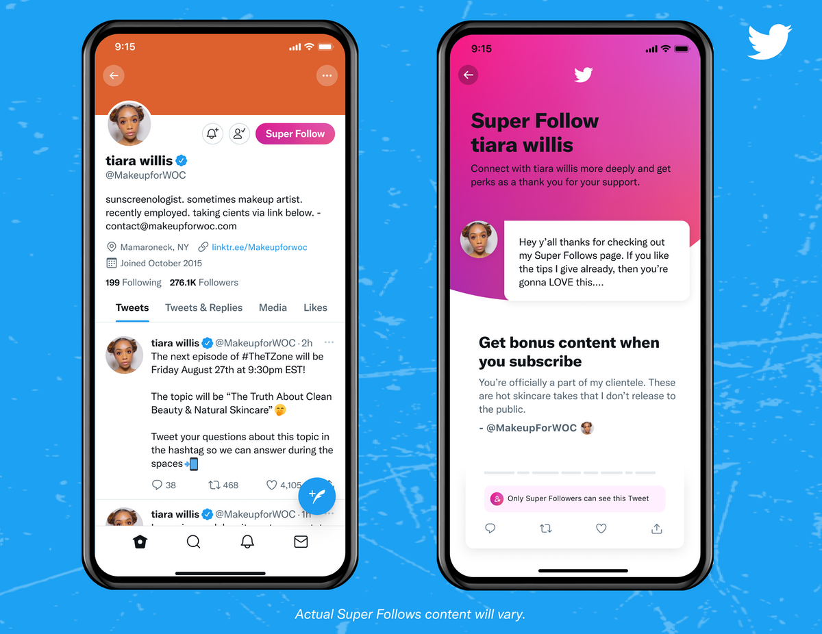 Twitter launches Super Follows for US and Canada users