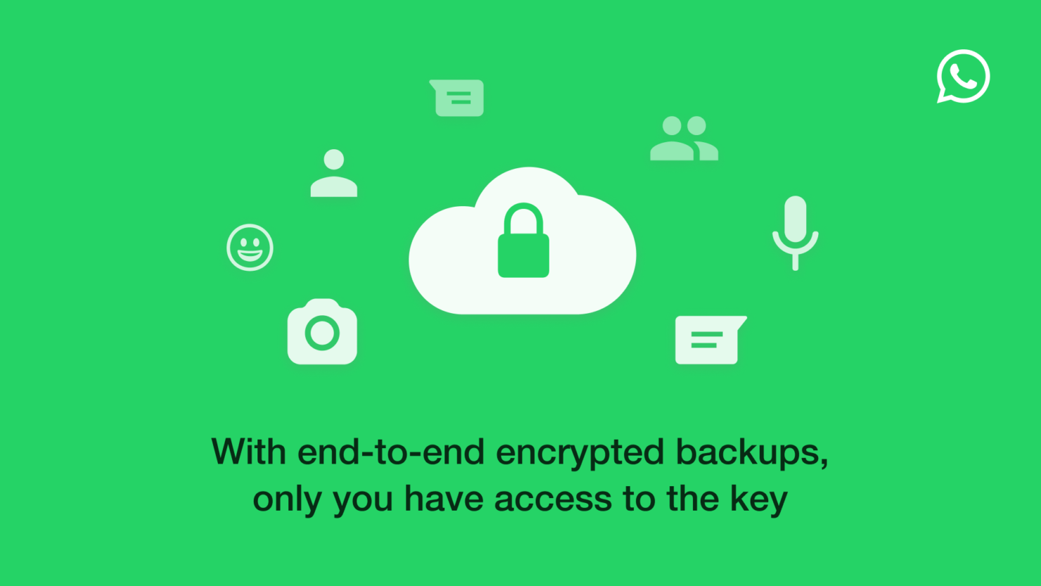 WhatsApp is Adding End-to-End Encryption for Google Drive and iCloud Backups