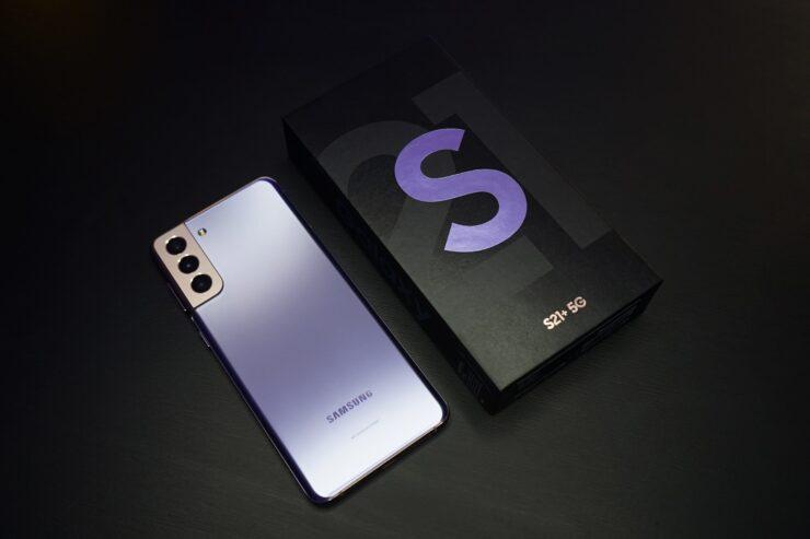 Samsung lance officiellement Android 12 Beta aux États-Unis pour la série Galaxy S21