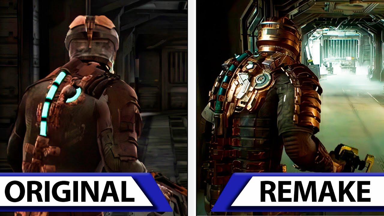 dead space remake comparison