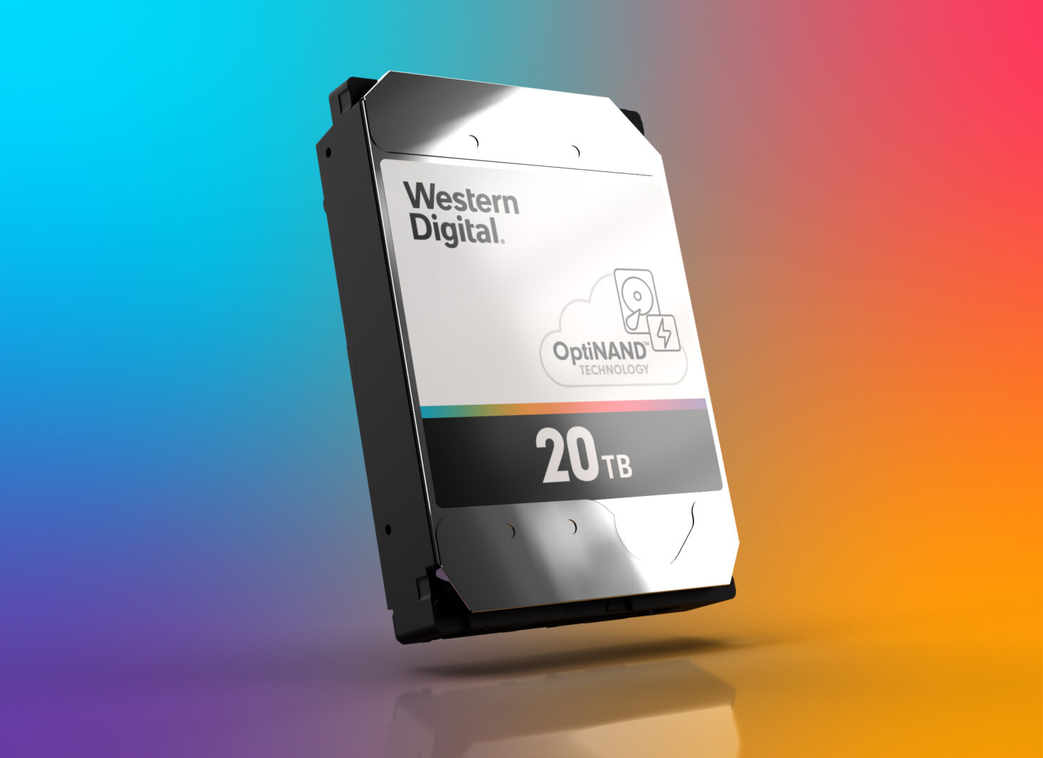 Western Digital Launches 20 TB Mechanical Hard Drive With OptiNAND Technology
