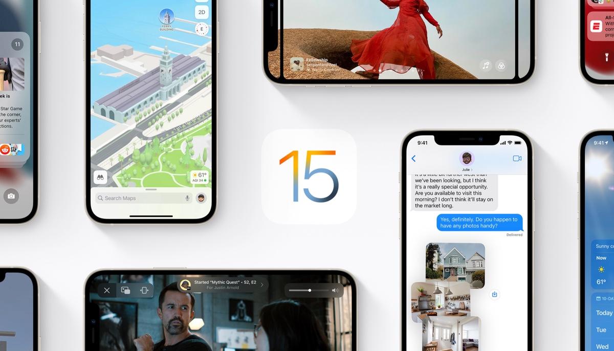 iOS 15 battery life comparison against iOS 14.8