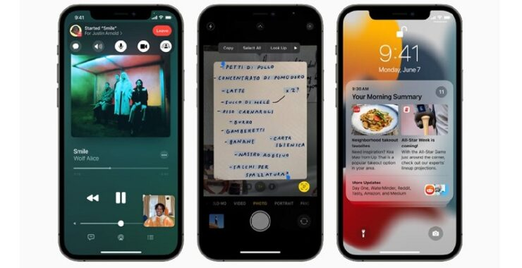 iOS 15 Launch and features