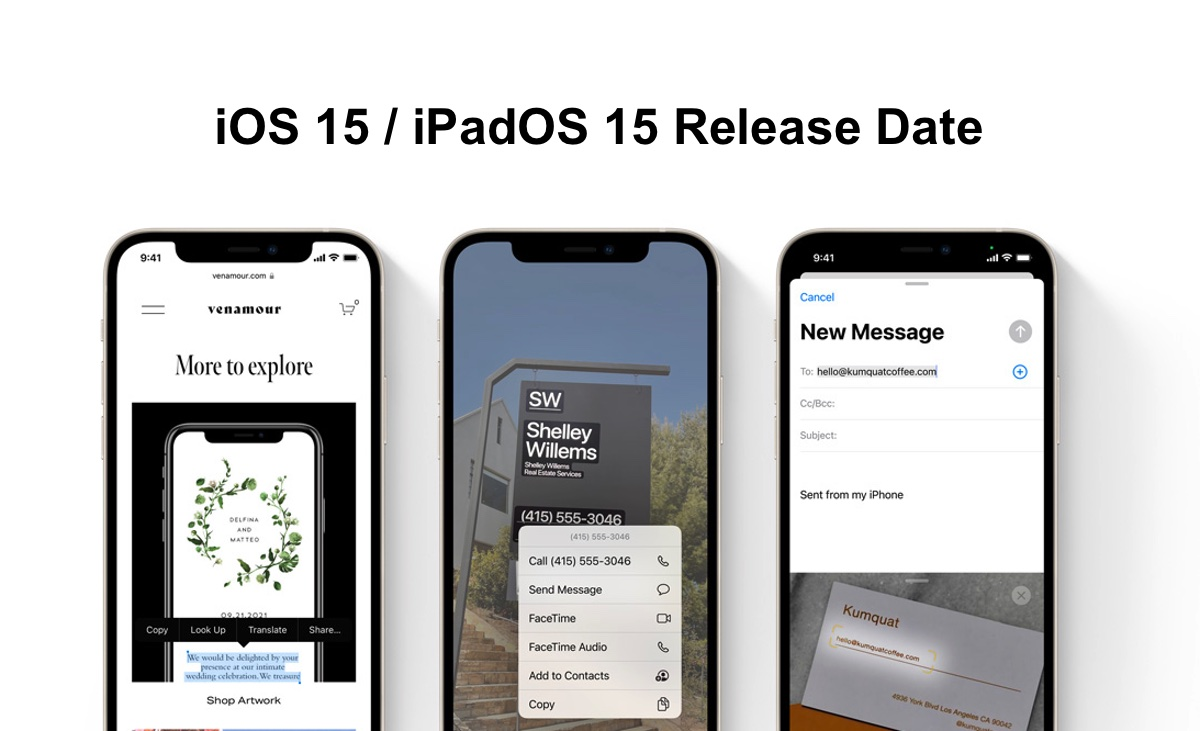 Full and final iOS 15 and iPadOS 15 release date announced by Apple