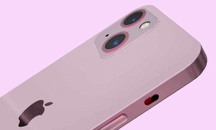 iPhone 13 Pro colors pink black and bronze