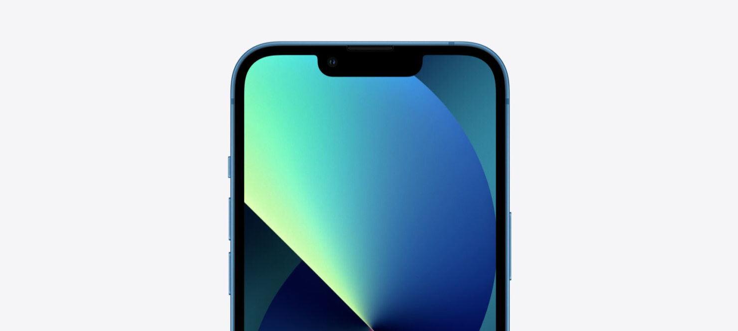 iPhone 13 Pro Notch Battery Percentage on Status Bar