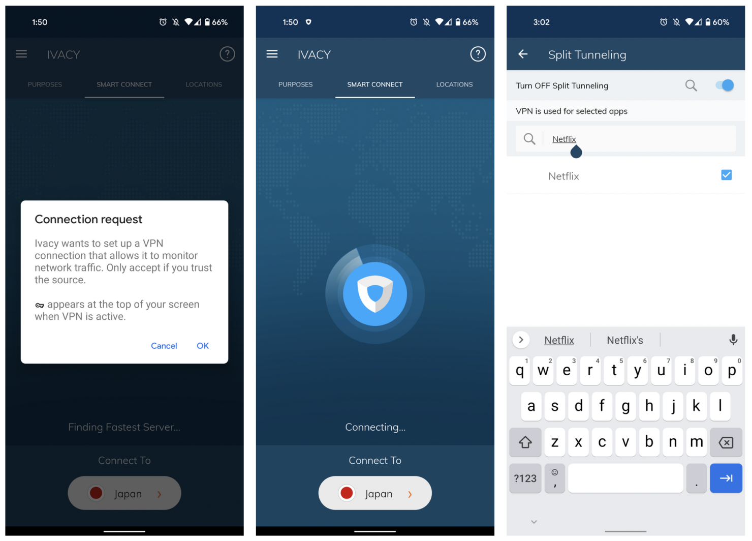 ivacy unblock netflix