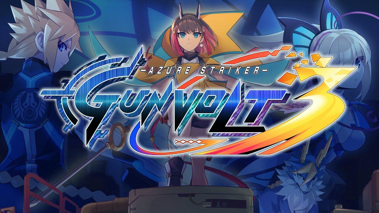 Azure Striker Gunvolt 3 Inti Creates