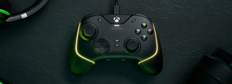 Razer Wolverine V2 Chroma Xbox Series controller wired