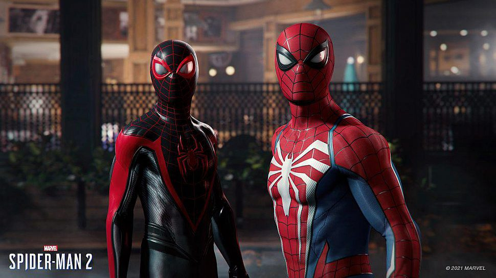 spider-man 2 ps5 darker