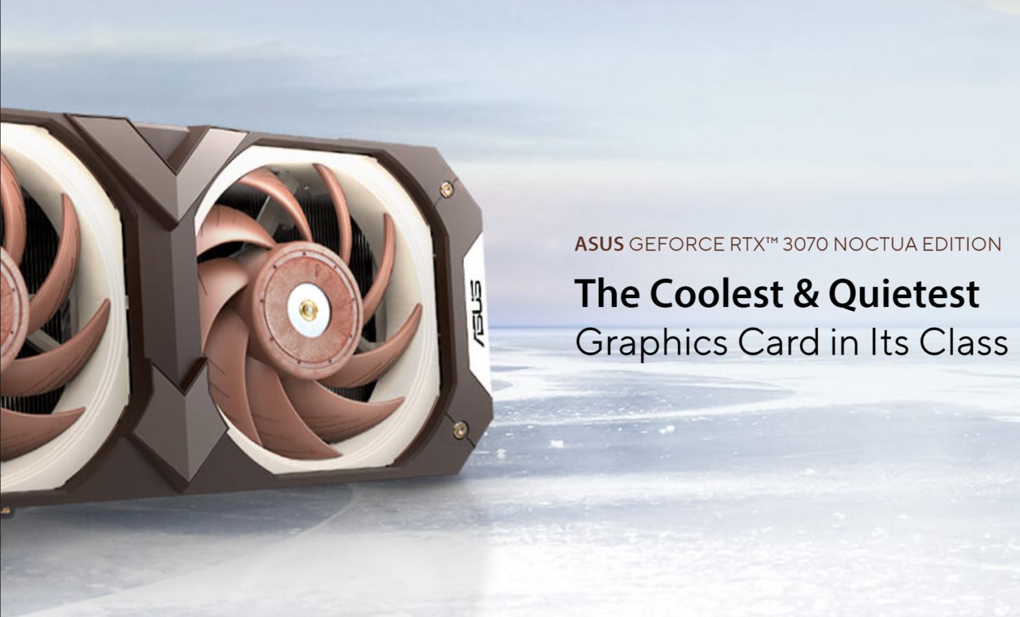 ASUS & Noctua Collaborate On ASUSGeForce RTX 3070 Noctua OC Edition Graphics Card