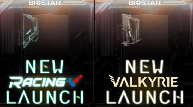 Biostar Teases Its Next-Gen Valkyrie & Racing Series Z690 Motherboards