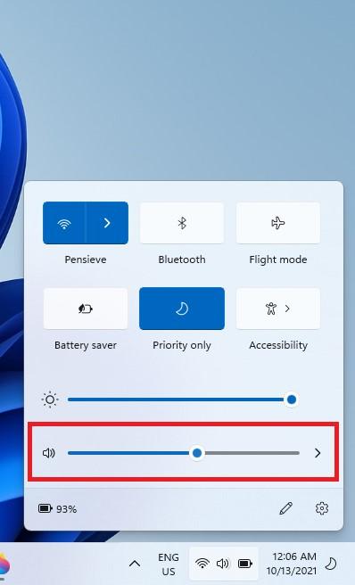 Change Sound Volume Windows 11