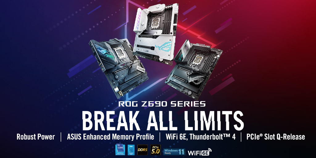ASUS Unleashes Z690 ROG, ROG STRIX, TUF Gaming, PRIME Motherboards: Prices & Specifications Detailed, Pre-Orders Open Now!