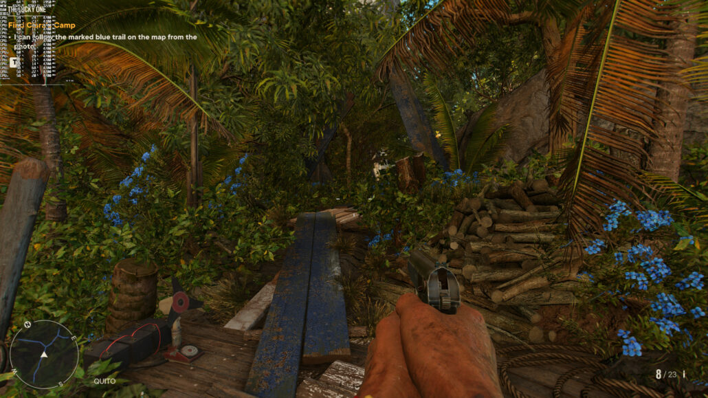 Far Cry 6 PC High Res Textures Enabled