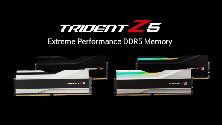 G.Skill's Trident Z5 DDR5 Memory Series Unveiled - Up To DDR5-6400 Speeds at CL36 Timings