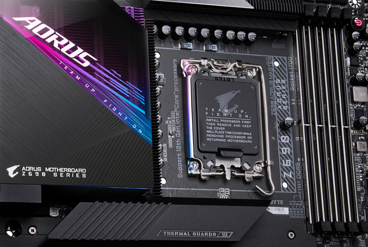 Gigabyte Z690 AOURS Master Motherboard Pictured In All Its Glory – Impressive Fins Array III Heatsink & E-ATX Form Factor Design
