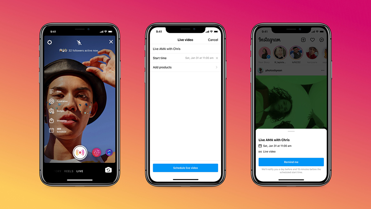Instagram is Preparing a New Practice Mode for Live, is Rolling Out Live Scheduling