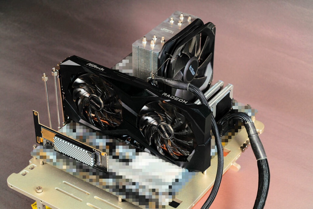 Intel's Core i9-12900K CPU has been tested on the Z690 platform along with the newly released Radeon RX 6600 graphics card. (Image Credits: Bilibili)
