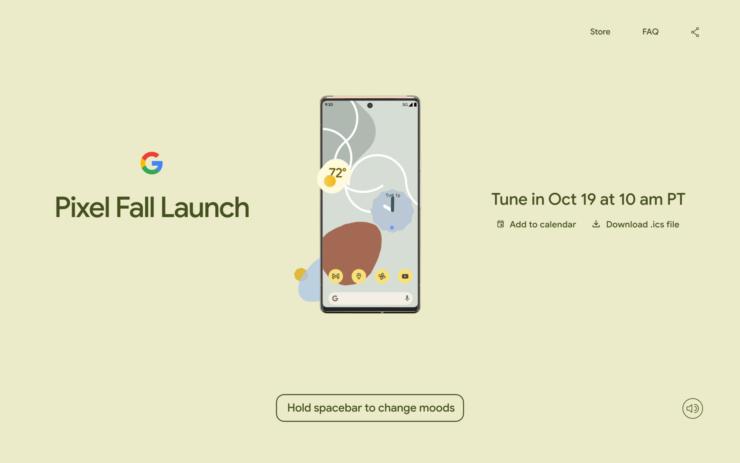 Google Pixel 6 Release Date Confirmed