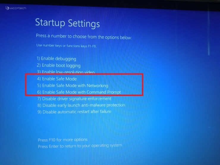 Safe Mode Windows 11