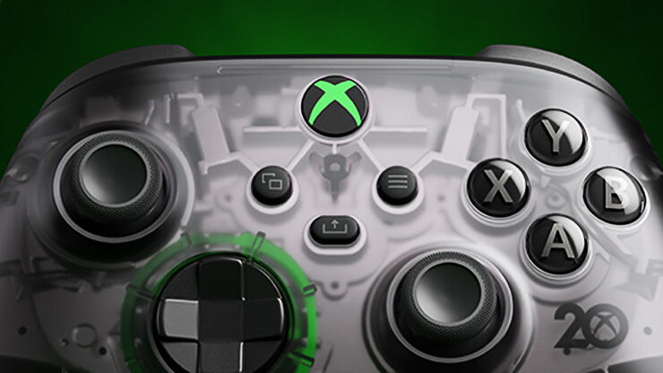 Xbox 20th Anniversary Special Edition Controller