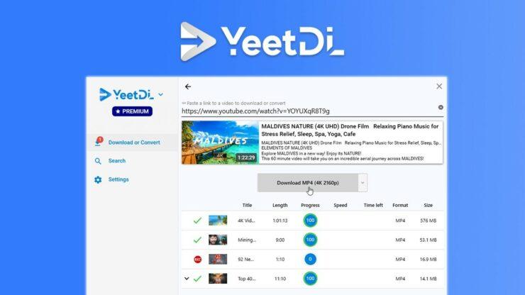 YeetDL Video Downloader Lifetime Subscription