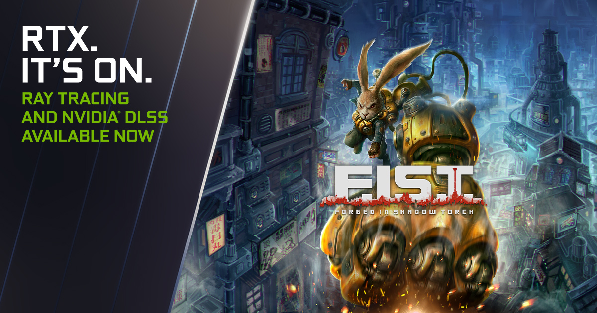 F.I.S.T. Forged in Shadow Torch NVIDIA