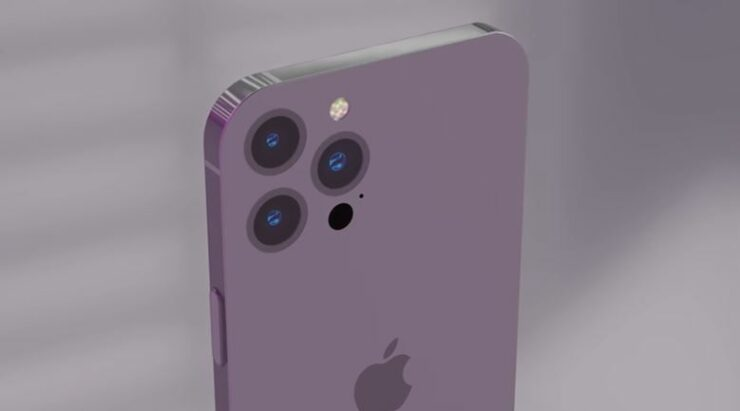 Conceptual video of the iPhone 14 Pro