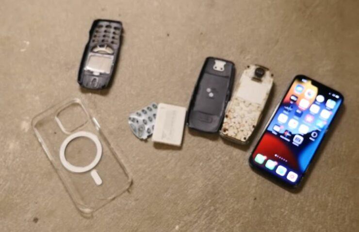 Le test de chute de l'iPhone 13 Pro bat le Nokia 3310
