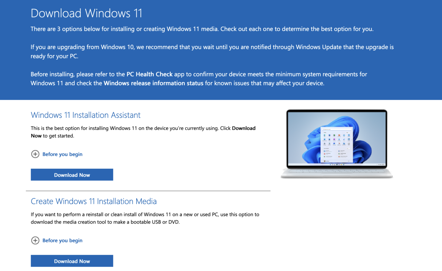 install windows 11 two