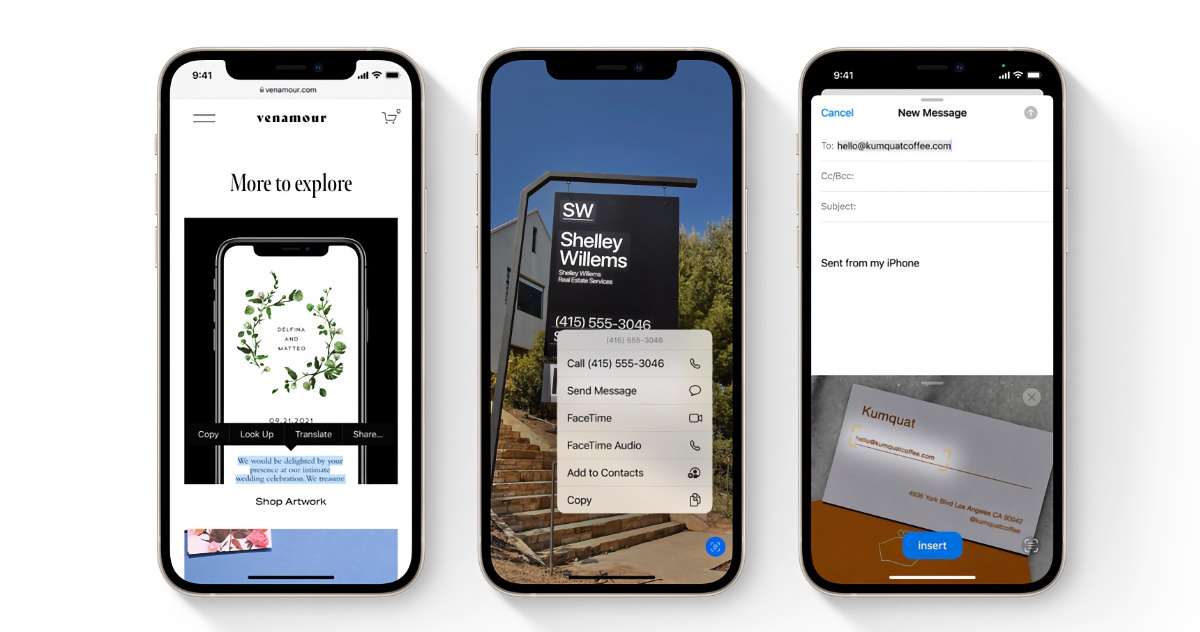 Learn to use Live Text in iOS 15 and iPadOS 15