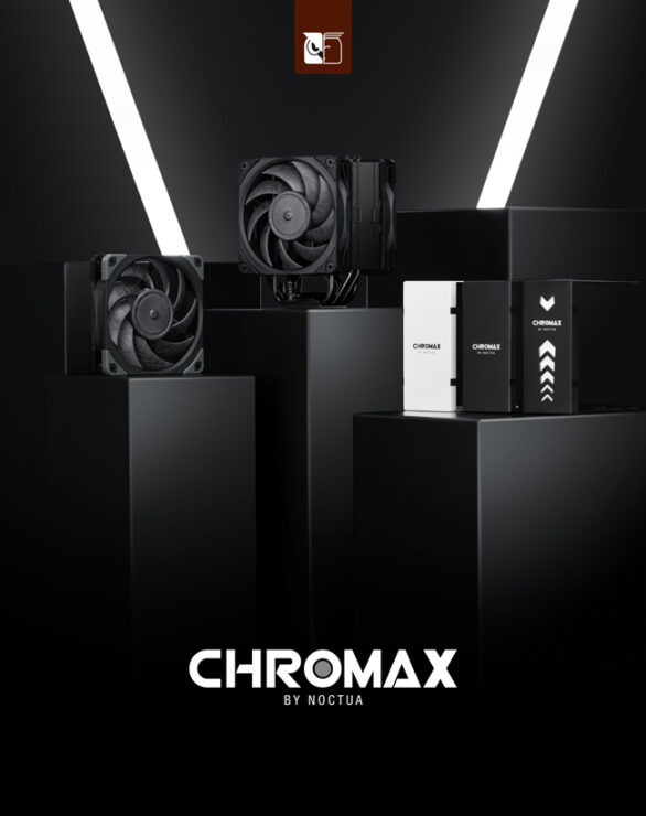 Noctua Launches Chromax NH-U12A CPU Cooler & NF-A12x25 Fans, Come In Black Colors With Brand New Heatsink Covers