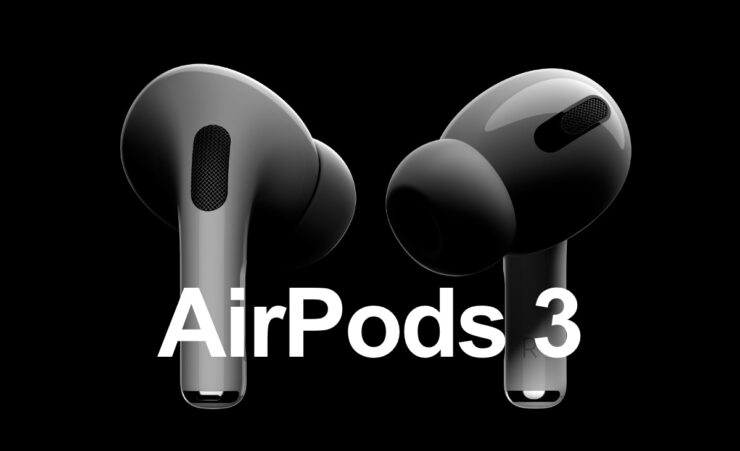 Redesigned AirPods 3